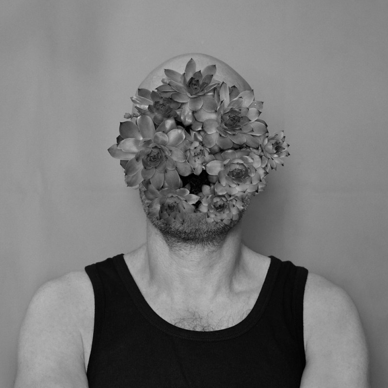 France, Paris, 2019, man with cabbage head